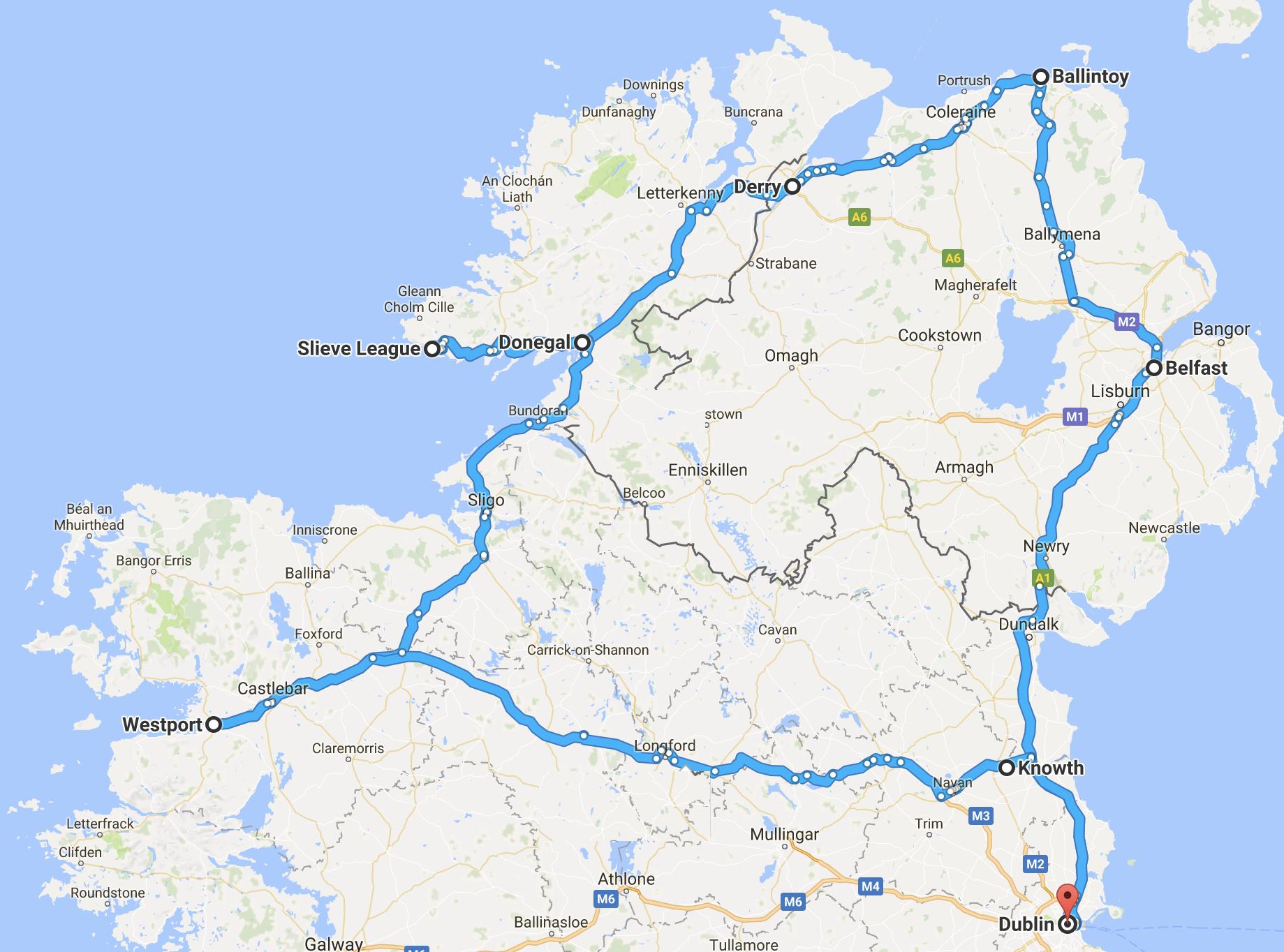Noord Ierland reizen
