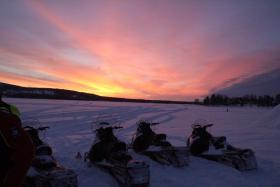 Vader en zoon Groepsreis Lapland voorjaar 2018