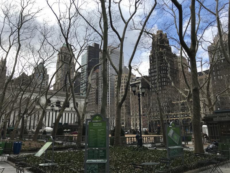 New York kerstreis