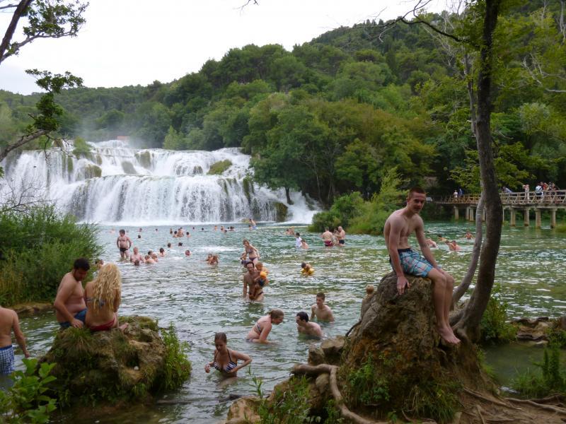 Jongeren vakantie kroatie