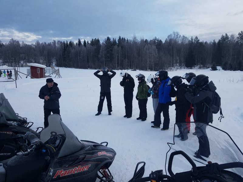 Uitleg sneeuwscooters