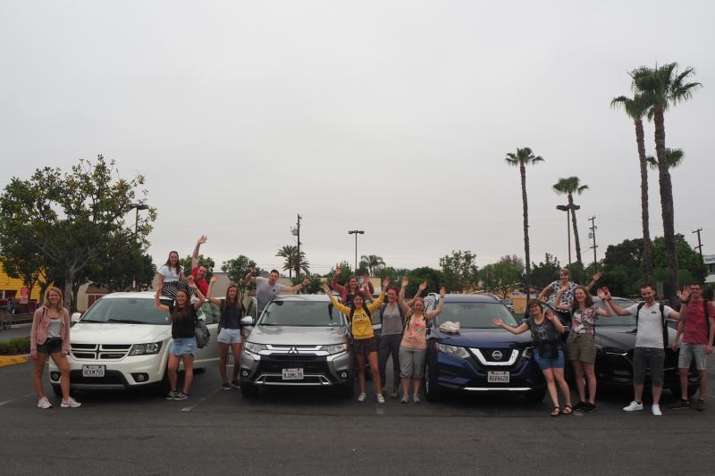 Groepsreis met SUV's