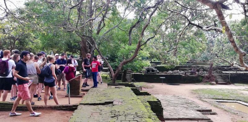 Sigiriya Lion Rock beklimmen