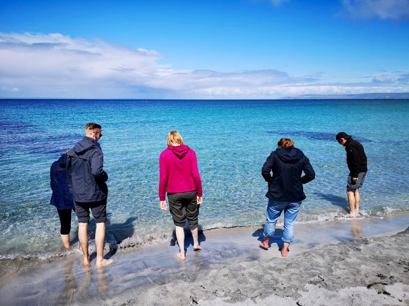 Naar het strand, Aran Islands boottocht
