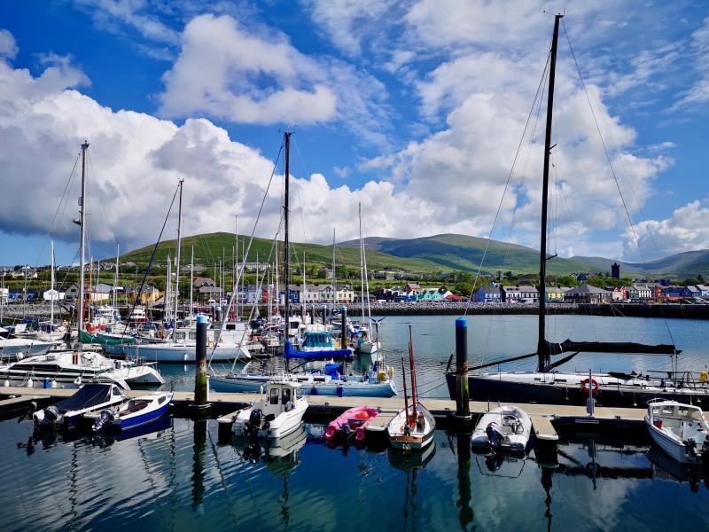 Ierse havenstadjes verkennen