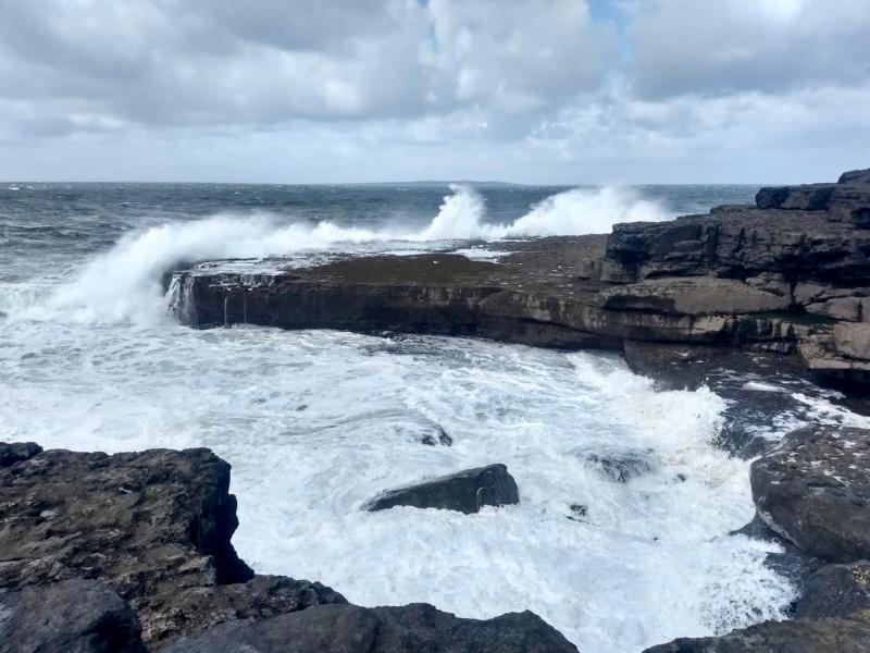 Ruige Ierse kust