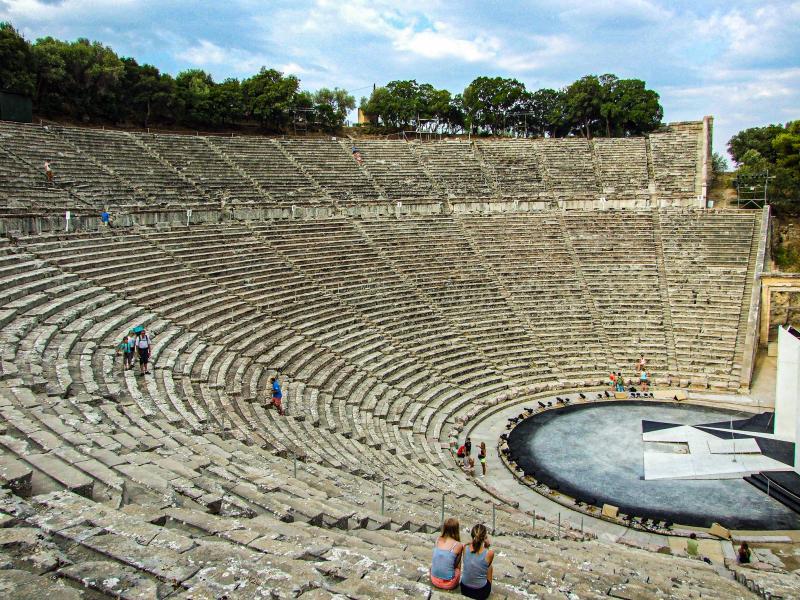 Theater van Epidaurus, Epidavros
