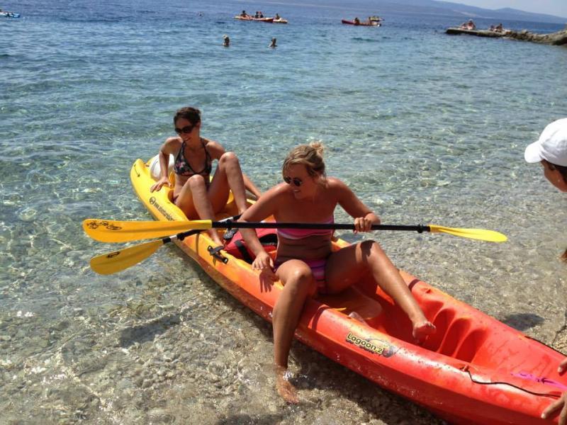 Zeekajakken en snorkelen