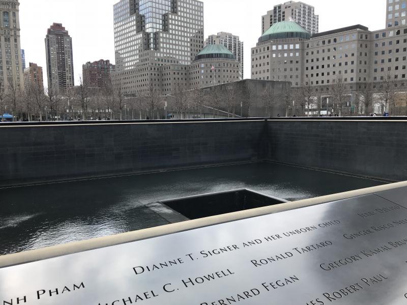 9/11 memorial reizen