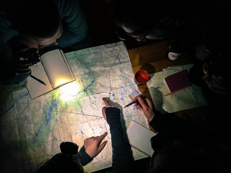 Basis navigatie skills voor in de bergen leren
