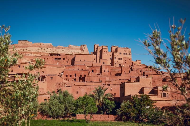 Bergdorpjes Marokko