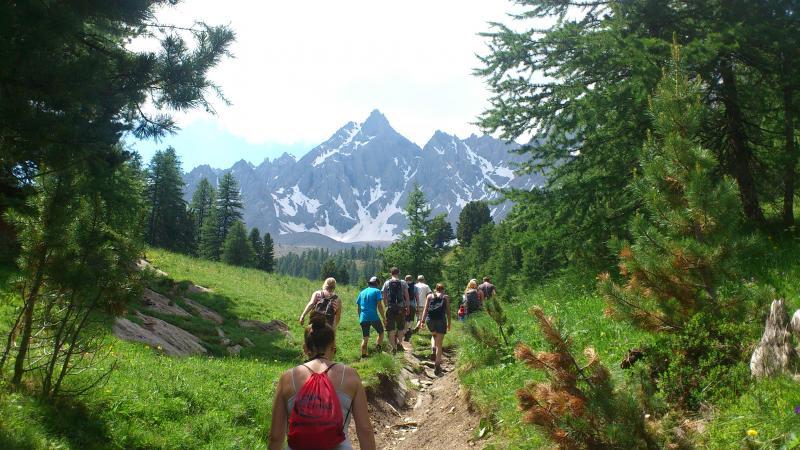 Bergwandelen jongerenreis Frankrijk