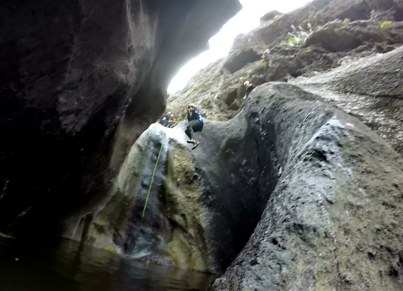 Canyoning Barranco