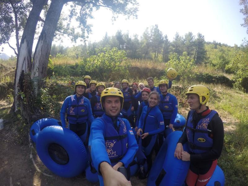 Canyoning en river tubing