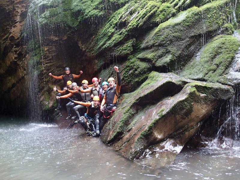 Canyoning groepsreizen