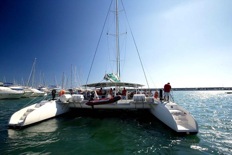 Catamaran jongeren reis