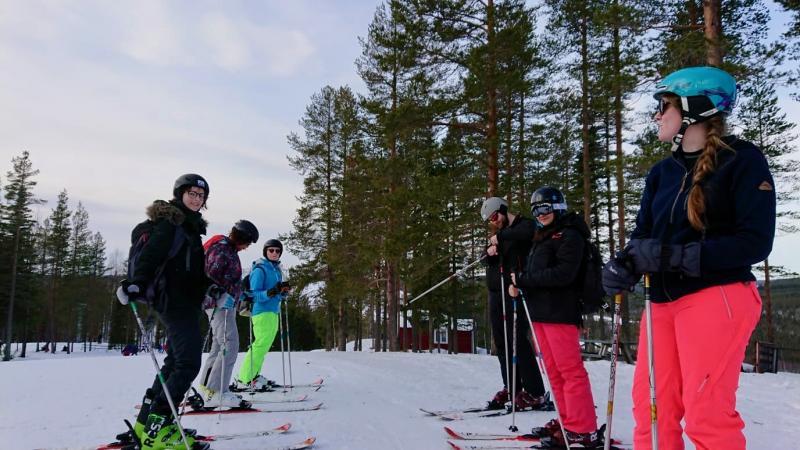 Cross-country skien