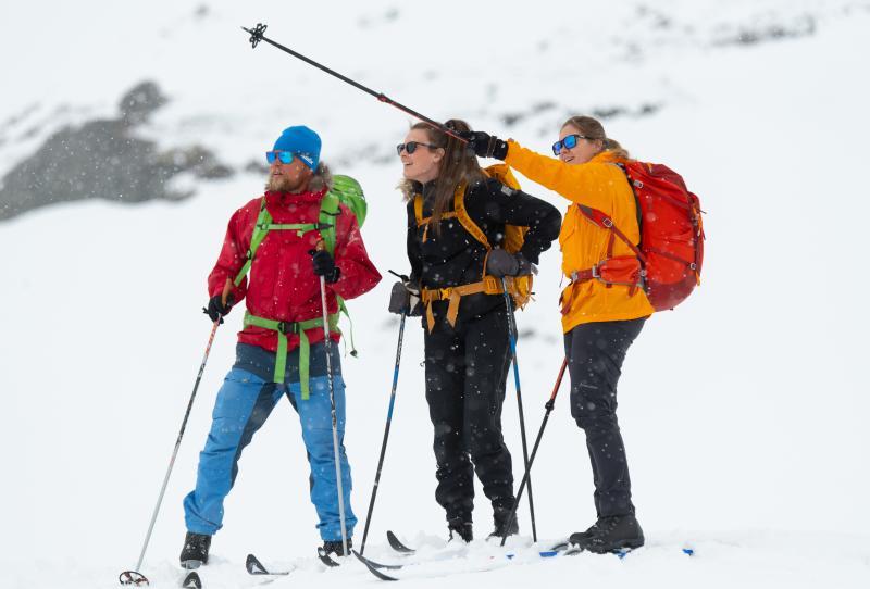 Cross-Country skiing in Noorwegen