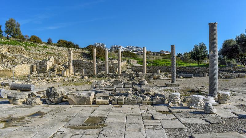 Cyprus, Amathus ruines (optioneel)