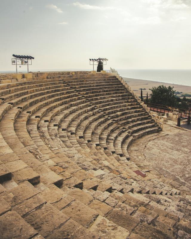 Cyprus, archeologische site Kourion (optioneel)
