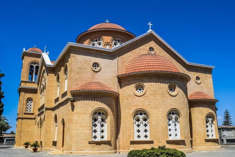 Cyprus, Athienou, Orthodoxe kerk