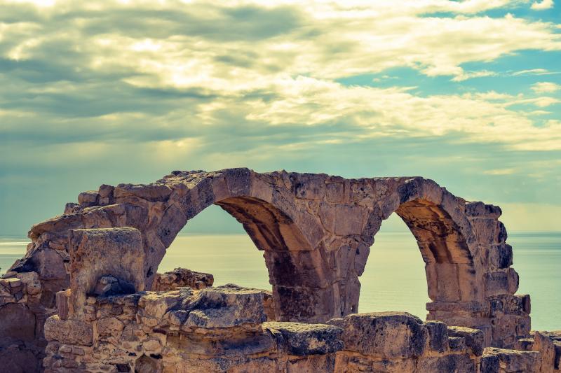 Cyprus, Kourin archeologische site (optioneel)