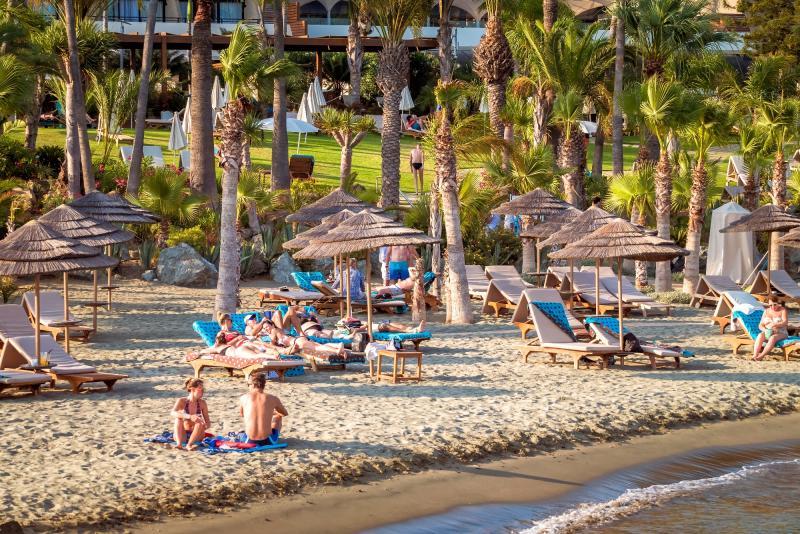 Cyprus, stranden bij Limassol