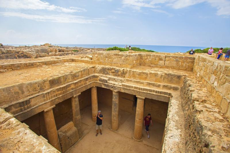 Cyprus, Tombs of the Kings, Pafos