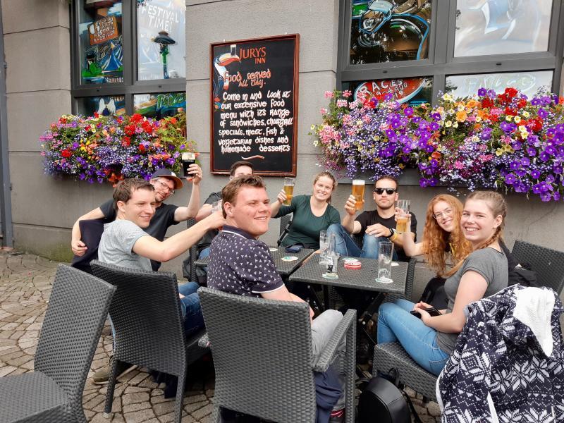 De Ierse pub opzoeken