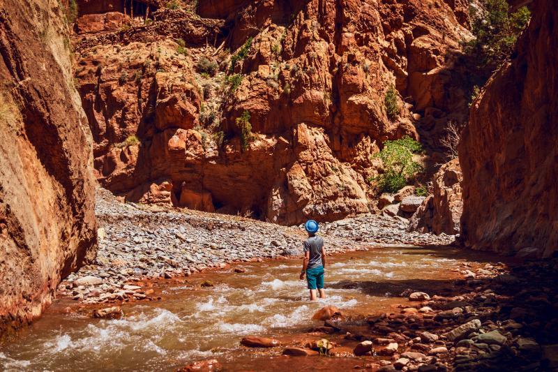 De M'Goun canyon