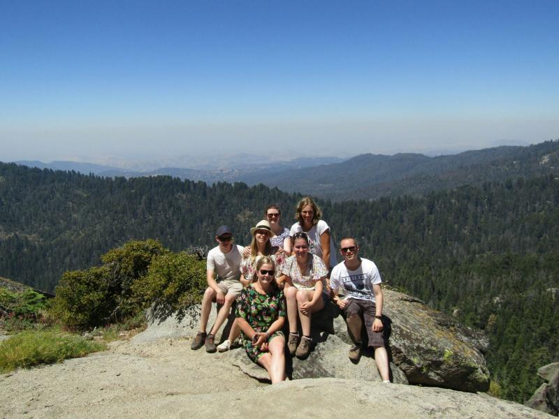 De omgeving van South Lake Tahoe