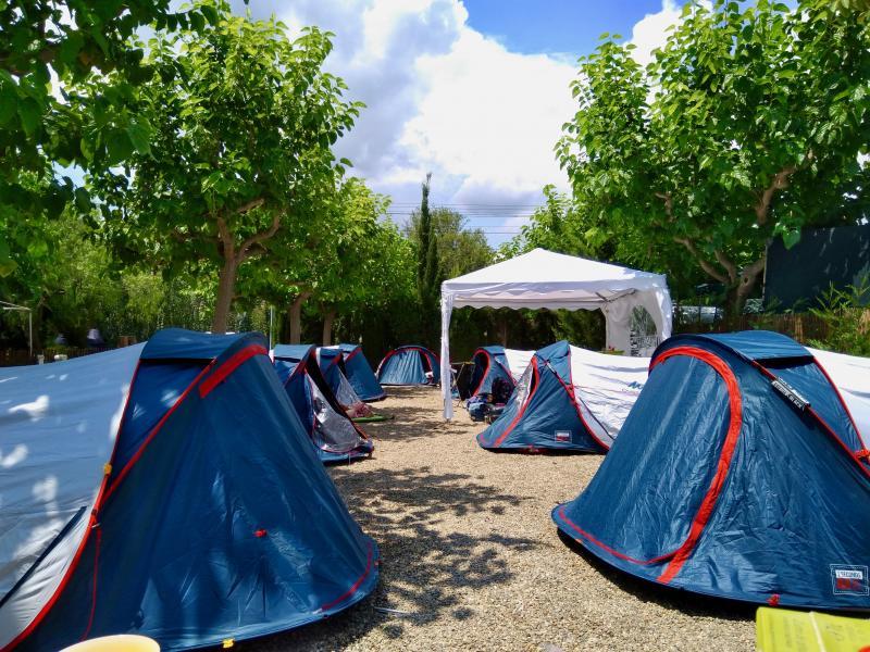 De tweede camping