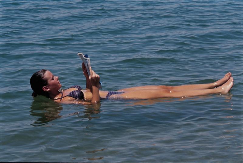 Dode zee strand