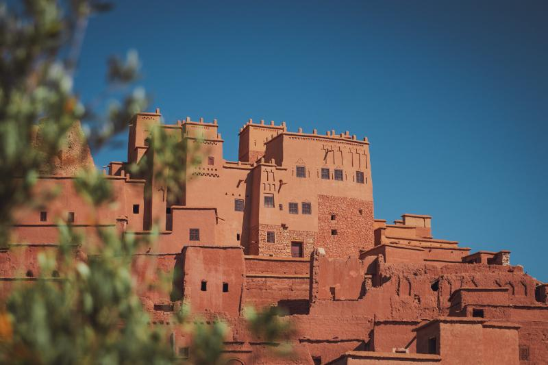 Dorp Marokko