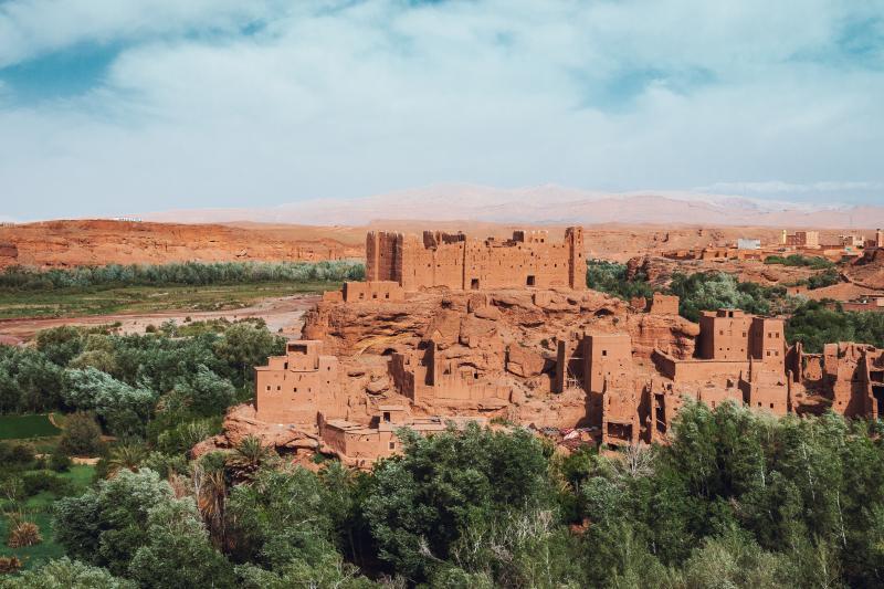 Dorpje Marokko