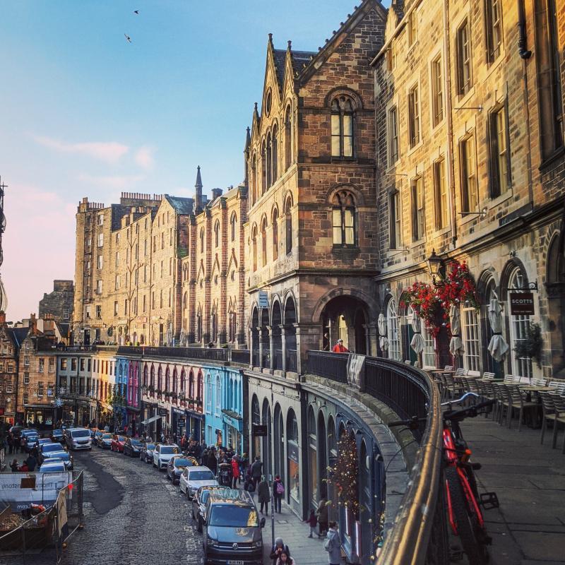 Edinburgh bezoeken