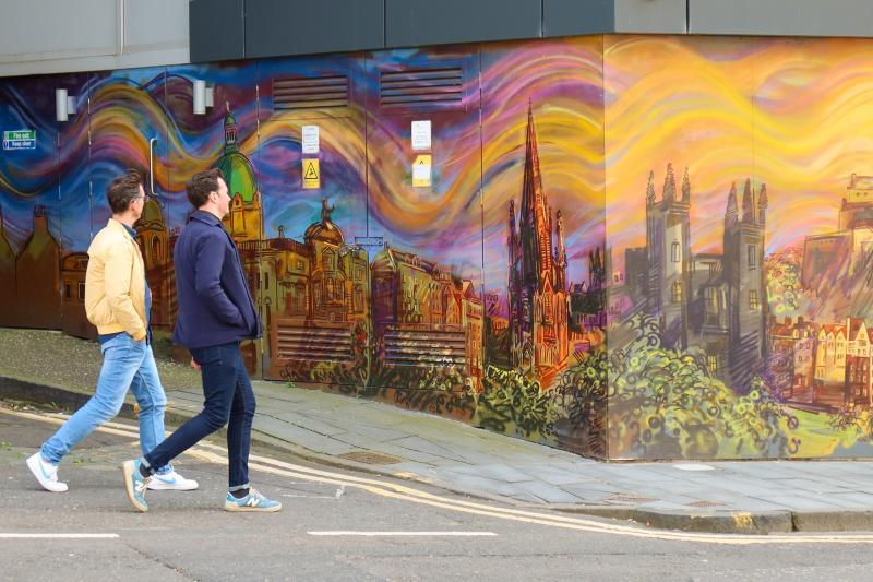 Edinburgh street art