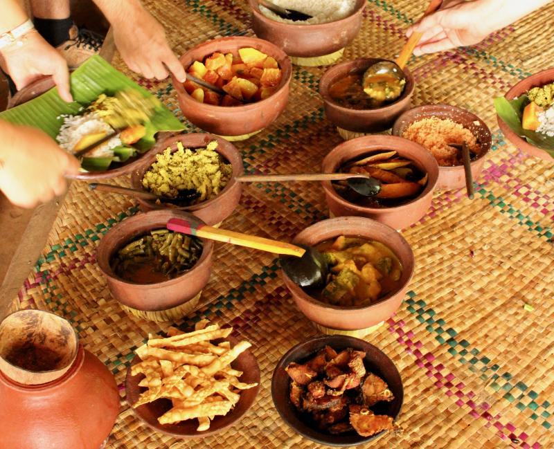 Eten in Sri Lanka
