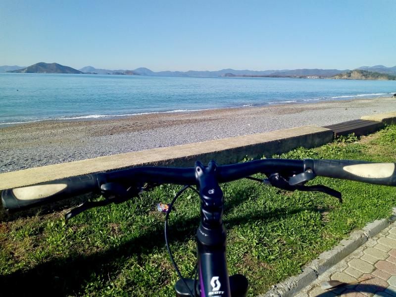 Fietstocht naar Green Valley langs Calis Beach