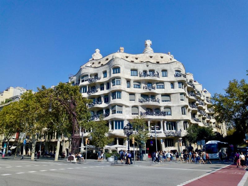 Gaudi's werken bekijken in Barcelona