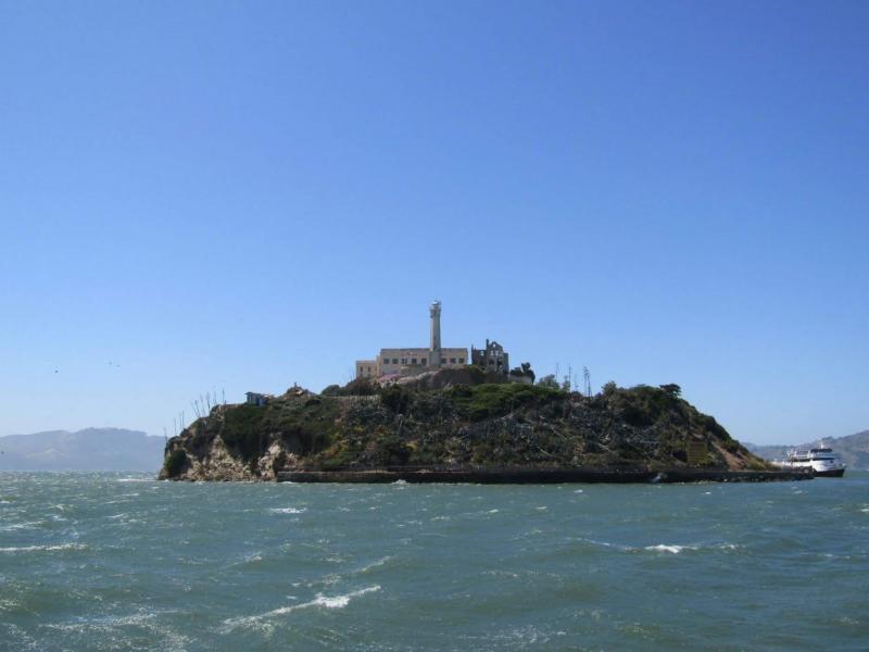 Gevangenis-eiland Alcatraz