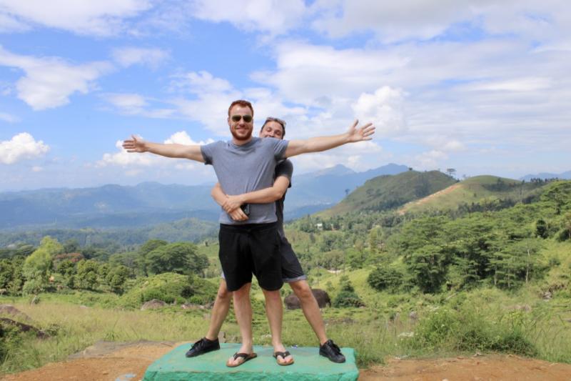Gezelligheid in Sri Lanka