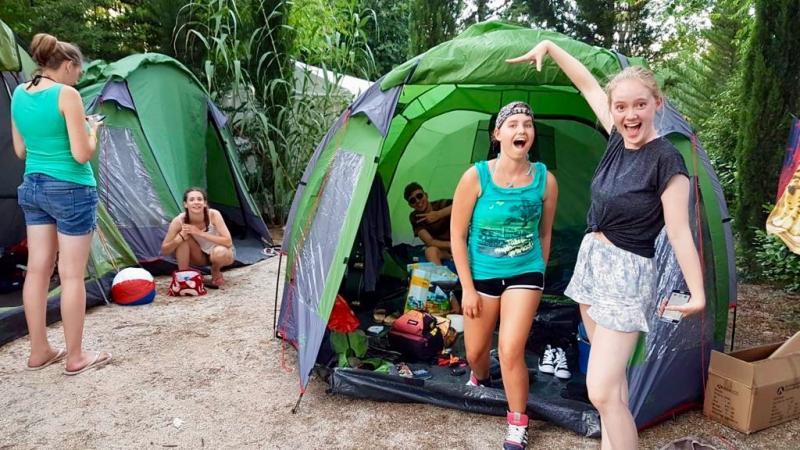 Gezelligheid op de camping!