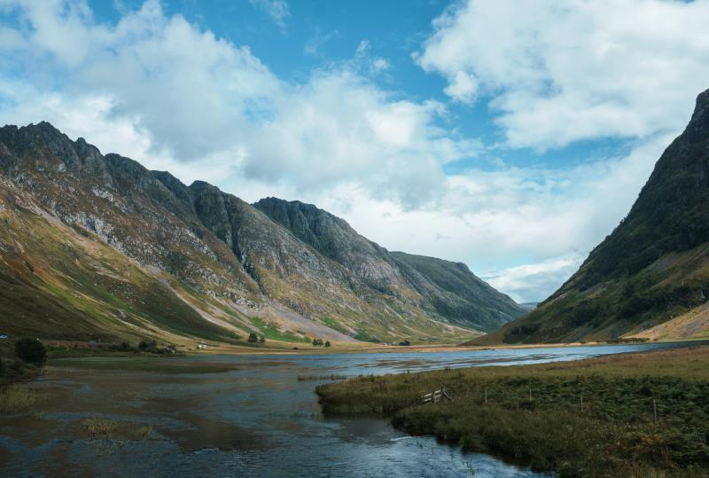 Glencoe natuurgebied