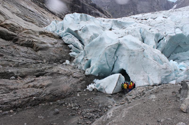 Gletsjer groepsreis