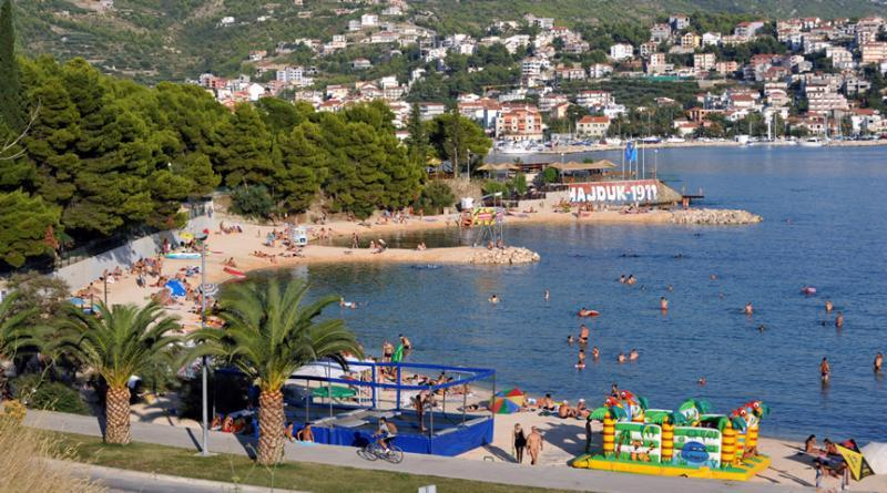 Haven en strand