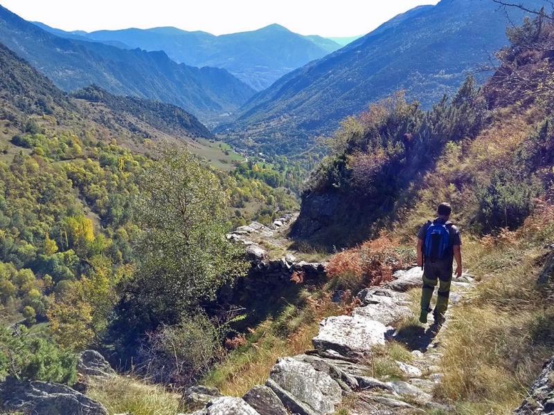 Hiken in de natuur van Spanje