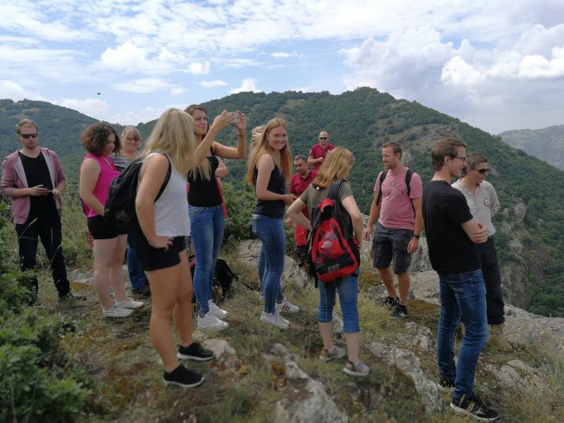 Hiking tour Galichica