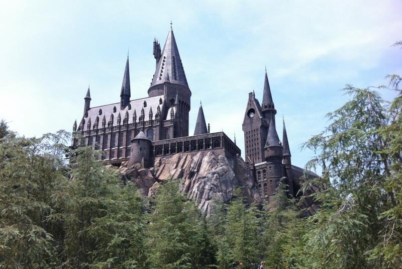 Hogwarts, Universal Studios (optioneel)