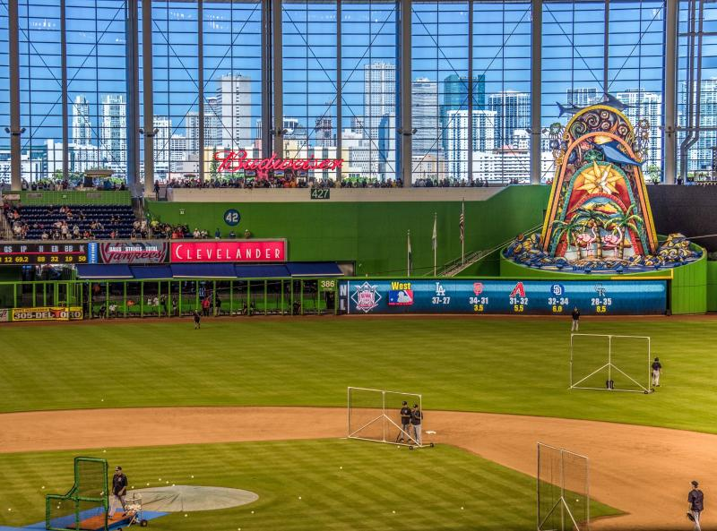 Honkbal in Miami (optioneel)